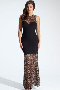 Sexy Damen Lang Kleid Spitzenkleid Minikleid Cocktailkleid Abendkleid