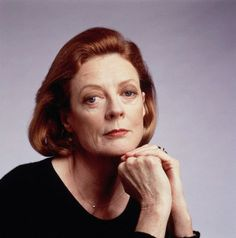 """Speak your mind, even if your voice shakes.""  Dame Maggie Smith"