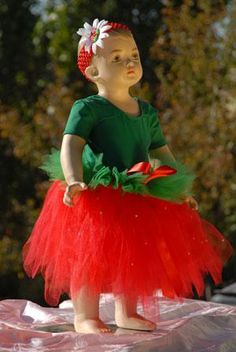 Strawberry Tutu Costume for Halloween!  Cute Cute!