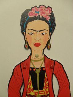 Frida Kahlo Puppet