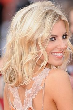 Mollie King hair, my new hair yay just need to learn to curl it like hers!