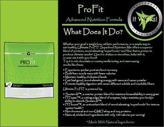 are you working out and looking for a protein supplement???  Profit is for you!!! www.suzwraps.myitworks.com