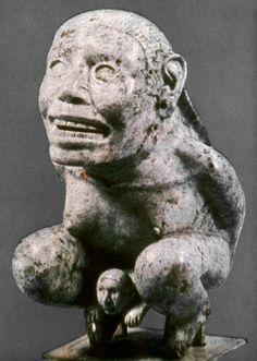 """Tlazoltéotl: (en náhuatl """"Devoradora de la Mugre"""" o """"Devoradora de inmundicias"""") Diosa Mexica de la tierra, el sexo y el nacimiento en la cultura azteca. Era la diosa que eliminaba del mundo el pecado y la diosa más relacionada con la sexualidad. Relacionada con la Luna."""