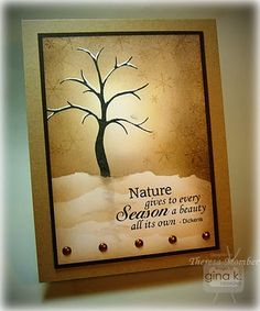 stamp, season, winter trees, masculin card, masculine cards, background, overalls, light, paper crafts