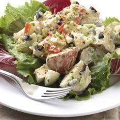 Roasted Garlic Potato Salad - EatingWell.com
