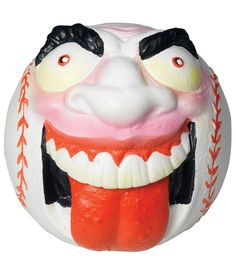 """Screamin' Meemie, a foam baseball with a wild face, from the original series of """"Madballs"""" from the Childhood Toys, Childhood Memories, 1980s Toys, Back In My Day, Jelly Beans, Toy Store, Balls, Nostalgia, Mad"""