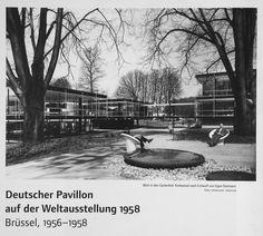 Sep Ruf & Egon Eiermann - German pavilion at the world expo, Brussels, 1958