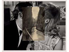 Face off: John Stezaker and John Baldessari show how to create audience engagement John Baldessari, John Stezaker, Photomontage, Collage Foto, Face Collage, Collage Collage, Collage Portrait, The Uncanny, Collage Artists