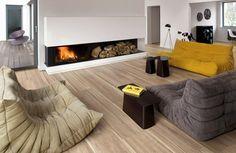 Ceppo by Provenza Sarasota Beach, Timber Tiles, Porcelain Tile, Stoneware, Beach House, Flooring, Living Room, Modern, Basement Ideas