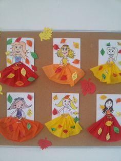 Best 12 Прикрашаємо школу та садочок до Свята о. Easy Fall Crafts, Animal Crafts For Kids, Fall Crafts For Kids, Paper Crafts For Kids, Fun Crafts, Art For Kids, Children Crafts, Autumn Activities For Kids, Art Activities