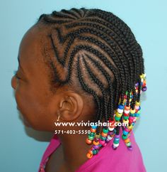 Cute Hair Styles for Girls, Natural Hair VA, Hair Braids Va, Corn Row Hair Braids