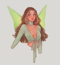 Cool Art Drawings, Art Drawings Sketches, Cartoon Drawings, Black Girl Art, Art Girl, Girl Cartoon, Cartoon Art, Pretty Art, Cute Art