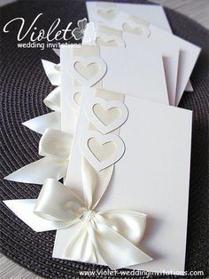 Best Handmade Wedding Invitations Designs
