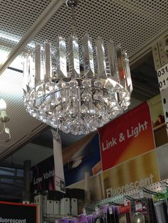 B and Q light in store