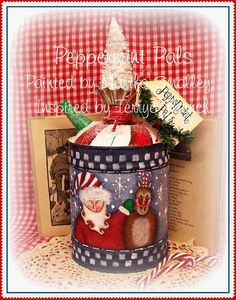 Painting With Friends E Pattern  Peppermint by PaintingWithFriends, $5.00