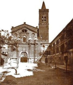 iglesia de San Martín de Tours - pueblo viejo de Belchite
