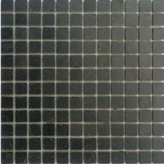 Mozaiek natuursteen hardsteen zwart 2,3x2,3x1