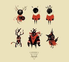 Image result for tribal creature concept art