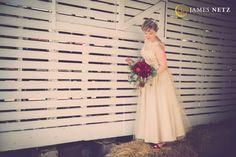 Bride country setting weddings - Image by JNP