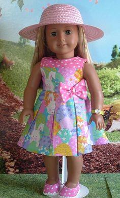 Bunnies and Polka Dots II for American Girl Dolls