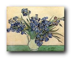 Get ready to adorn your living space with this beautiful Vincent van Gogh Iris flower in vase floral art print poster. This poster spread its floral charm which will surely motivate you to stay calm and relax. It will be a wonderful addition for your home décor and also make a great gift for those who love floral pattern for their home. Your guests will definitely compliment you for your excellent taste.