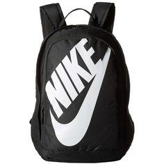 Nike Hayward Futura M (Black/Black/White) Backpack Bags Rucksack Bag, Backpack Bags, Fashion Backpack, Laptop Backpack, Black And White Backpacks, Grey Backpacks, Nike Tech Fleece, Nike School Backpacks, Nike Bags