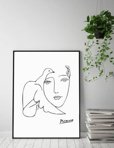 Picasso Picasso Print Pablo Picasso Pablo Picasso Art Fine