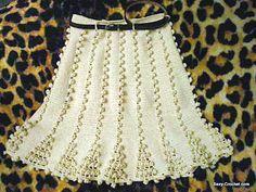 Unique Crochet, Love Crochet, Crochet Lace, Crochet Bikini, Crochet Skirts, Knit Skirt, Crochet Clothes, Crochet Baby Cocoon, Crochet Woman