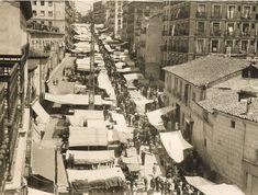El Rastro, 1929 Ferriz. Museo Municipal de Madrid.   Diríase que el Rastro no ha…