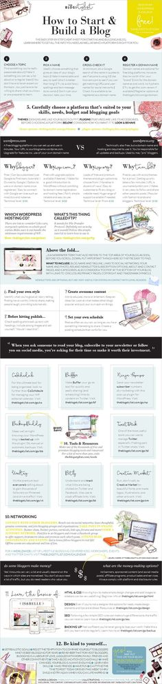 A quick and easy guide to starting and building a including generating traffic, monitoring your progress and making money. Marketing Digital, Marketing Online, Content Marketing, Affiliate Marketing, Marketing Tools, Internet Marketing, Make Money Blogging, Make Money Online, How To Make Money