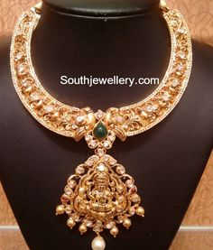 Antique Gold Nakshi Choker photo