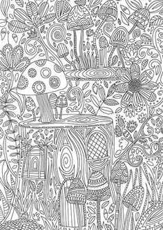 calming art therapy coloring pages - Pesquisa Google