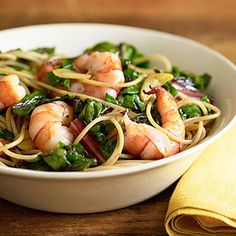 Sauteed Shrimp and Red Chard - FamilyCircle.com
