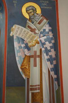 Roman Church, Church Interior, Byzantine Icons, Orthodox Christianity, Fresco, Catholic, Saints, Projects To Try, Symbols