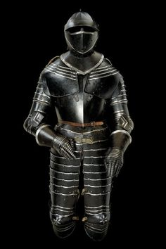 A black and white armour, 16th century                                                                                                                                                                                 More