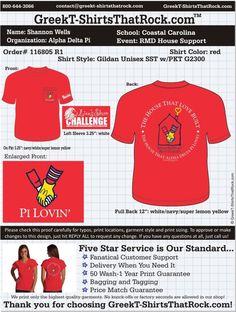 Alpha Delta Pi T-Shirts That Rock 116805 R1