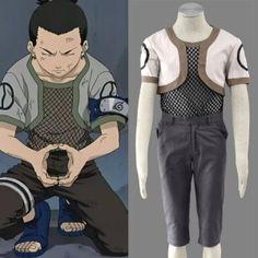 Naruto Nara Shikamaru Cosplay Costume