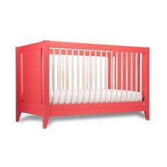 Stylish AND eco-friendly? The Honest Co. 4-in-1 Convertible Crib has got it all. See our other Best Cribs of 2015 here!