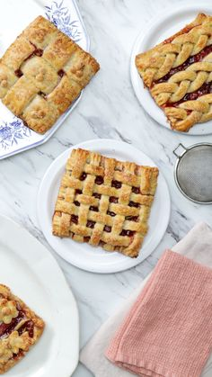 Filled with sweet berry goodness, these gorgeous mini pies are the perfect treat for spring!
