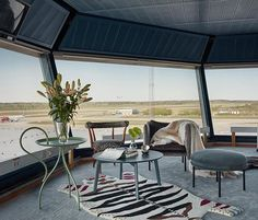 Sleeping at the airport never looked so good. @HomeAway transformed the air-control tower at Stockholm's Arlanda airport into a luxe apartment. You can enter a chance to win a stay here on a 4-day Nordic trip tap the link in our bio for all the info.  via HARPER'S BAZAAR MAGAZINE OFFICIAL INSTAGRAM - Fashion Campaigns  Haute Couture  Advertising  Editorial Photography  Magazine Cover Designs  Supermodels  Runway Models
