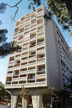 Marseille 25 Le Corbusier Cité Radieuse