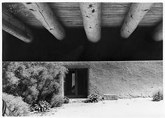 Looking from the garage to the studio door, Abiquiu, New Mexico[Georgia O'Keeffe]  Google Image Result for http://images.metmuseum.org/CRDImages/ph/web-highlight/MM73647.jpg