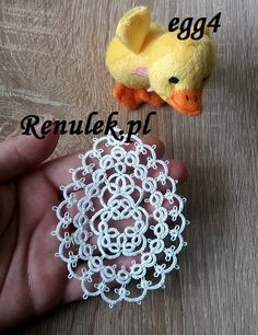PDF original shuttle tatting pattern of the Renulek. This is not the finished item. Tatting level – intermediate/advance This pattern assumes some knowledge about shuttle tatting. If you know how to make rings, chains, picots and how to join the elements – this pattern is for you. To make