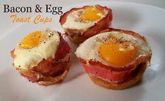 The Farm Girl Recipes: Bacon & Egg Toast Cups