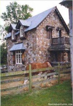 stone cottage, | House Exteriors | Pinterest