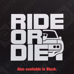 Ride or Die Fast and Furious Car Vinyl Bumper Sticker Window Decal Funny for sale Custom Stickers, Bumper Stickers, Cheap Sports Cars, 2017 Acura Nsx, Nissan Gt, Ride Or Die, Performance Cars, Car Wrap, Fast And Furious