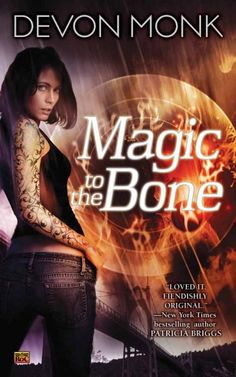 Book 1 in the Allie Beckstrom urban fantasy series published by Roc. Cover by the amazing artist, Larry Rostant.