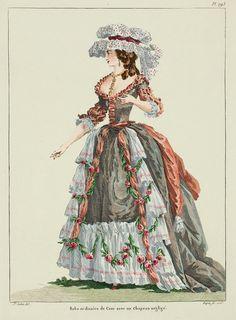 A Most Beguiling Accomplishment: Galerie des Modes, 2e Cahier de Grandes Robes d'Etiquette, 4e Figure