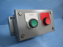 Saginaw Control SCE-2PBI Pushbutton Start Stop Control Station Enclosure (YY2940-2). See more pictures details at http://ift.tt/2iXgCuz