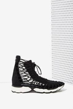 Jeffrey Campbell Lopsa Neoprene Sneaker | Shop Shoes at Nasty Gal